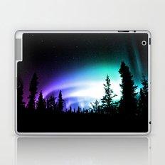 Aurora Borealis Forest Laptop & iPad Skin