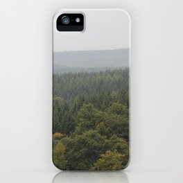 Over Harz Wald iPhone Case