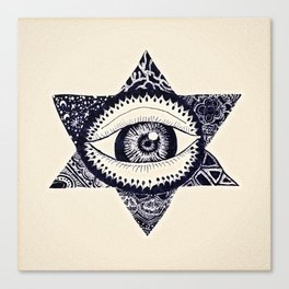 Starry Eyed by Tarachand Canvas Print