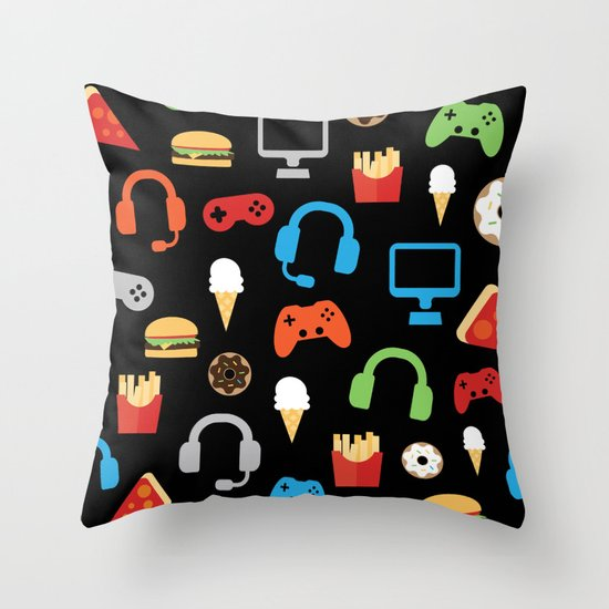 Video Game Party Snack Pattern by samanndesigns