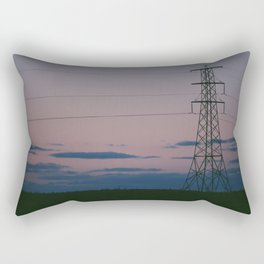 Sunset Signal Rectangular Pillow