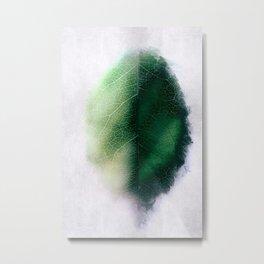 Digital Leaf Metal Print