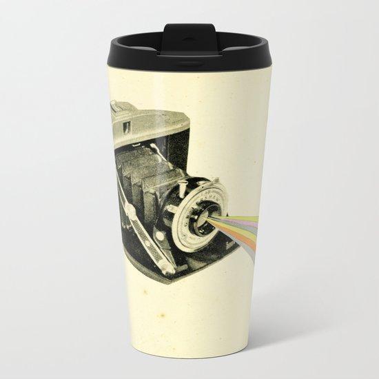 It's a Colourful World Metal Travel Mug