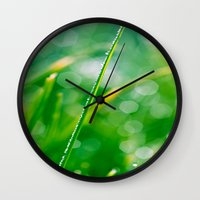 bokeh Wall Clocks featuring Bokeh by DianaSPhotography