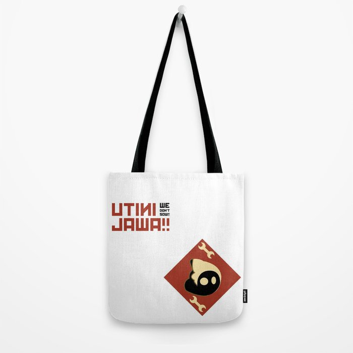 We don't sow!! Tote Bag