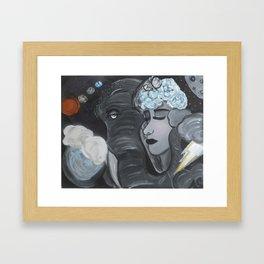 Beings  Framed Art Print