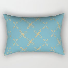 Abstract Astral Pattern Rectangular Pillow