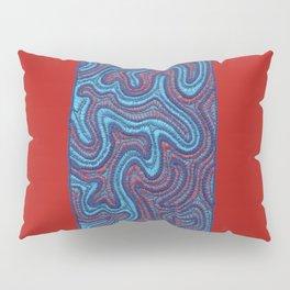 Stitches - Coral Pillow Sham