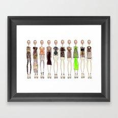 Organic Spectrum. Framed Art Print
