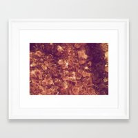 minerals Framed Art Prints featuring Minerals by Yuli Scheidt