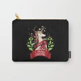Christmas Unicorn Holidays Gift Gift Idea Carry-All Pouch