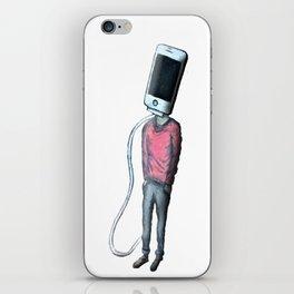 Head Phone iPhone Skin