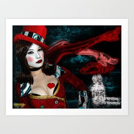 Everyone Comes to Moxxie's  Art Print