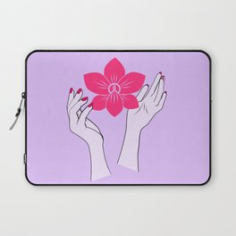 Holy orchid Laptop Sleeve