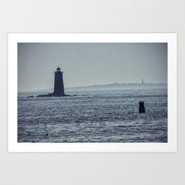 Whaleback Light Art Print
