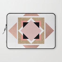 Carré rose Laptop Sleeve