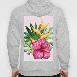Tropical Hibiscus Summer Bouquet Hoody