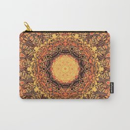 Marigold Mandala Carry-All Pouch