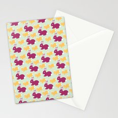 Some-bunny loves me Stationery Cards