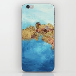 Your Golden Reflecton iPhone Skin