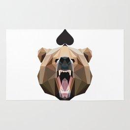 Spades of Bear Rug