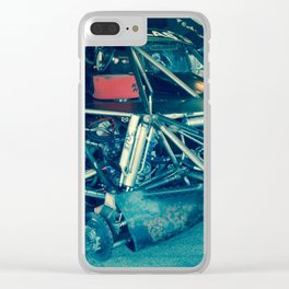 Dirty Job equals a Fast Truck Clear iPhone Case