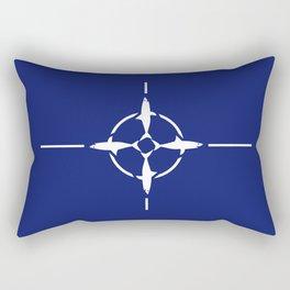 Shark NATO Rectangular Pillow