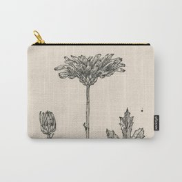 Floral Ink Drawing II Carry-All Pouch