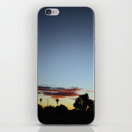 Sunset In The Park iPhone Skin