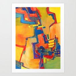 Hovering Art Print