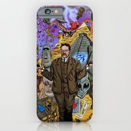 Charles Fort - Fortean iPhone Case