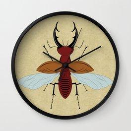 Lucanidae Wall Clock