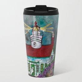 Haunted Lighthouse Travel Mug