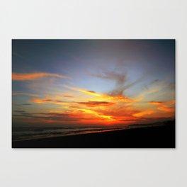 Cenizas y Fuego Canvas Print