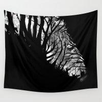 stripes Wall Tapestries featuring Nature Stripes by dan elijah g. fajardo