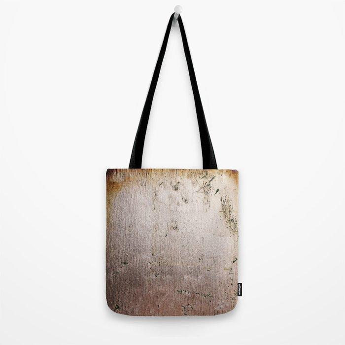 Distressed Silver Gold Leaf Tote Bag