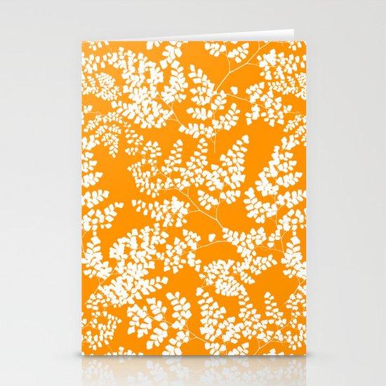 Spring Orange Stationery Cards