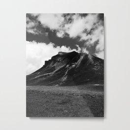 DARKNESS FALLS ACROSS THE MOUNTAIN / Bregenz Forest, Austria Metal Print