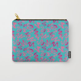Squiggles Pattern Carry-All Pouch