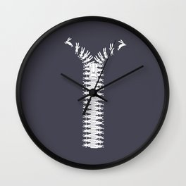 Unzip your imagination Wall Clock