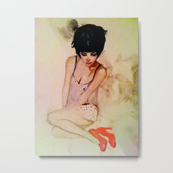 betty Metal Print