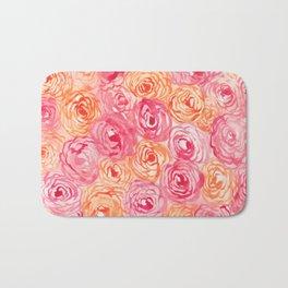 Abstract Flower Pattern I Bath Mat