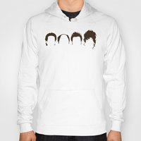 seinfeld Hoodies featuring Seinfeld Hair by Bill Pyle