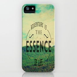 Essence Of Life  iPhone Case