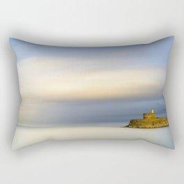 Mandraki harbour of Rhodes Greece Rectangular Pillow