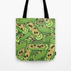 Celery & Peanut Butter Tote Bag