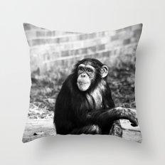 Ape or Trait? Throw Pillow