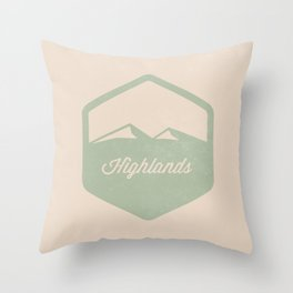 Highlands Throw Pillow