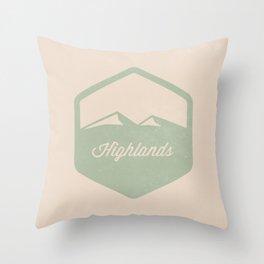 Highlands Throw Pillow
