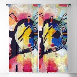 Wassily Kandinsky Yellow Center Blackout Curtain